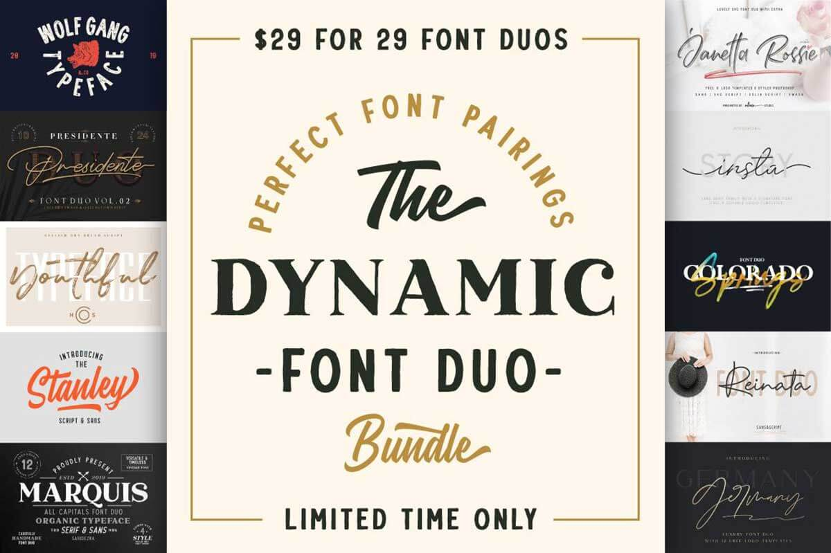 The Dynamic Font Duo Bundle