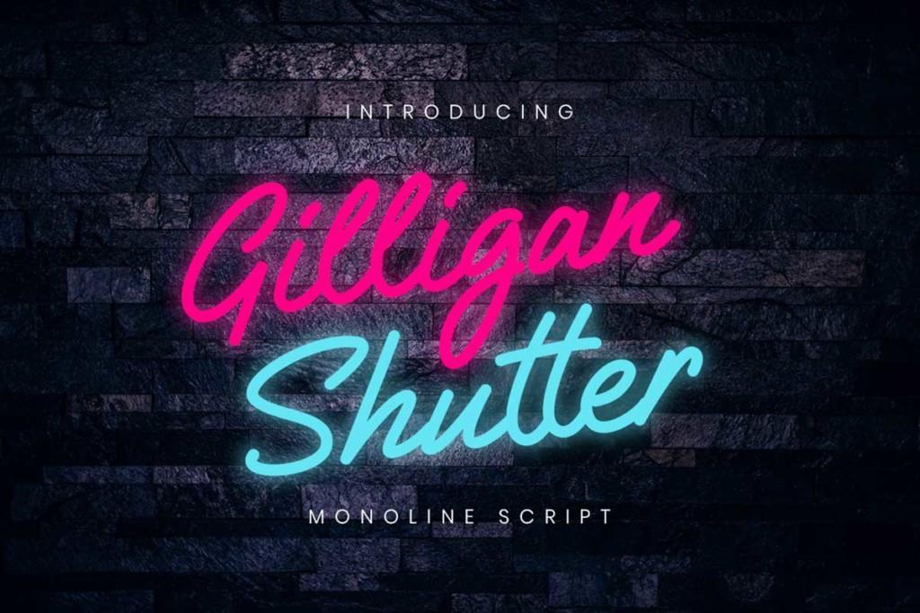 Gilligan Shutter Monoline