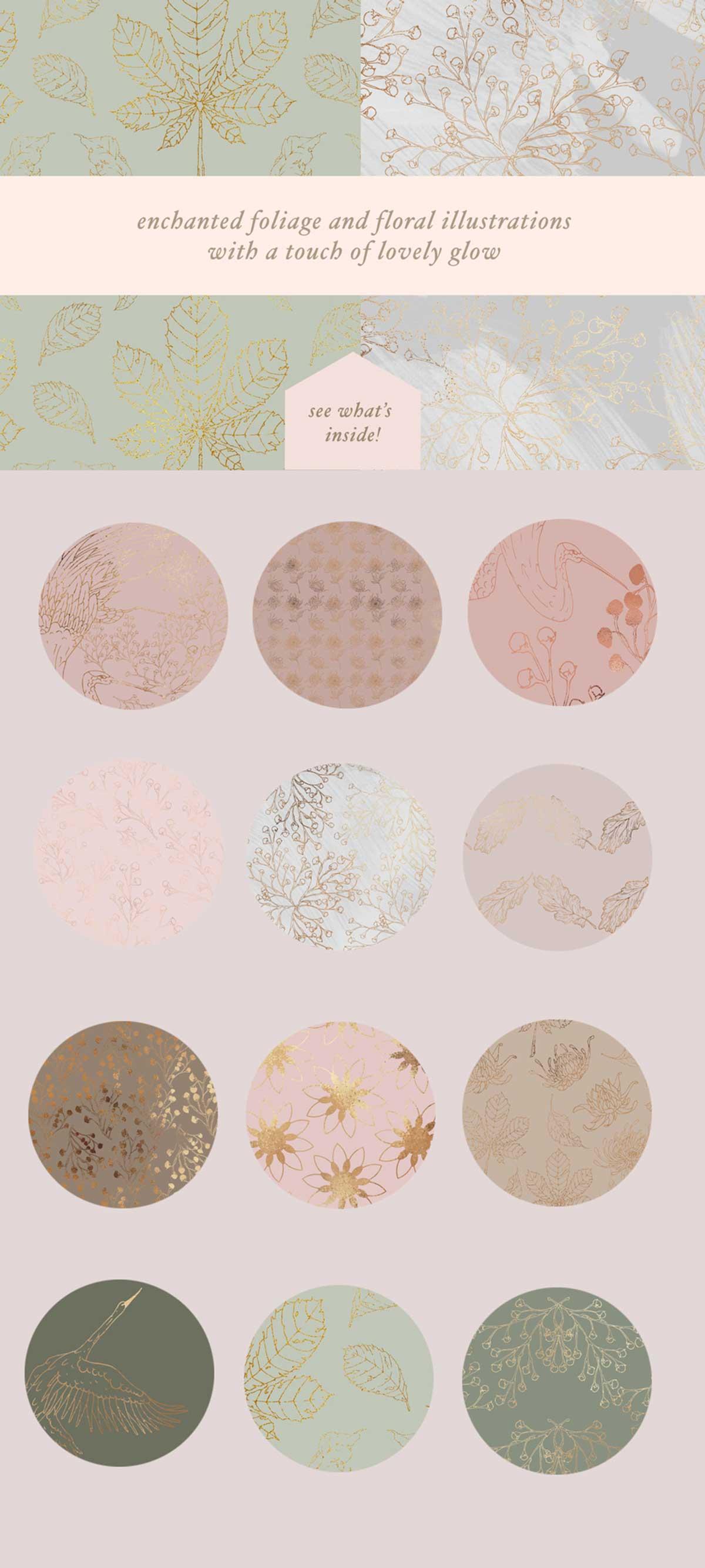 100 Elegant Patterns