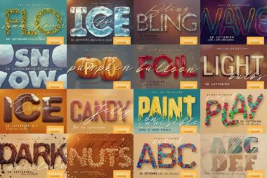Freebie 3D Letters – available for commercial use