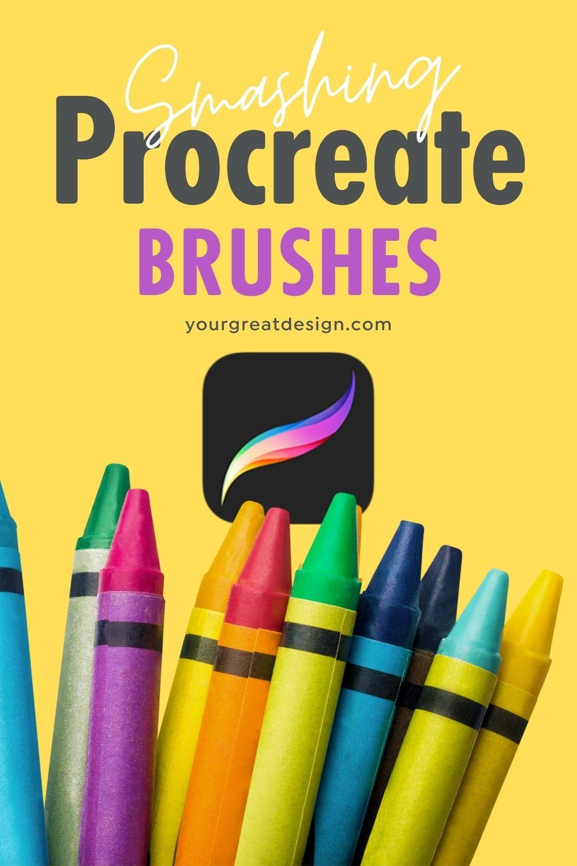 Stunning Procreate brushes - Copic, halftone, watercolor, chalk, light