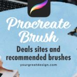 Procreate brush deals sites and recommended brushes