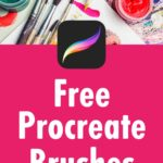 Free Procreate brushes - Ready to download and use now!