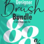 The Affinity Designer brush bundle is on a huge sale for 88% off!